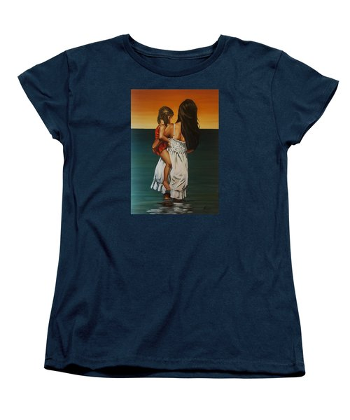 Mother And Daughter II Women's T-Shirt (Standard Cut) by Natalia Tejera