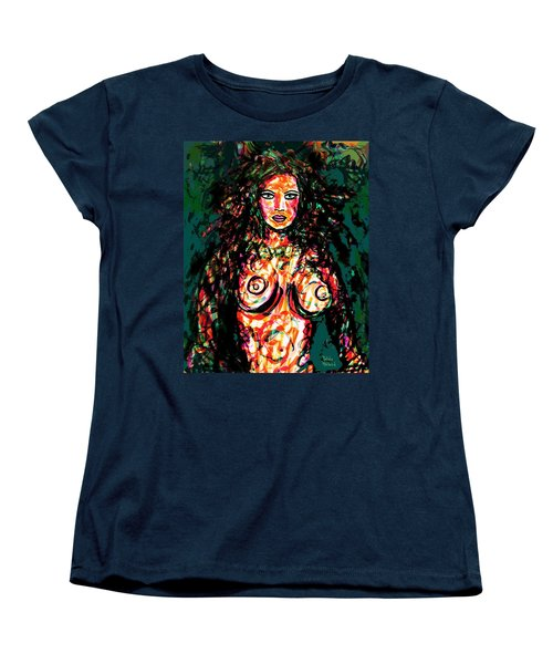 Mother Nature Women's T-Shirt (Standard Cut) by Natalie Holland