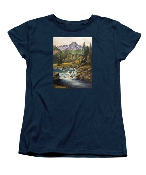 Mountain Of The Holy Cross Women's T-Shirt (Standard Cut) by Jack Malloch