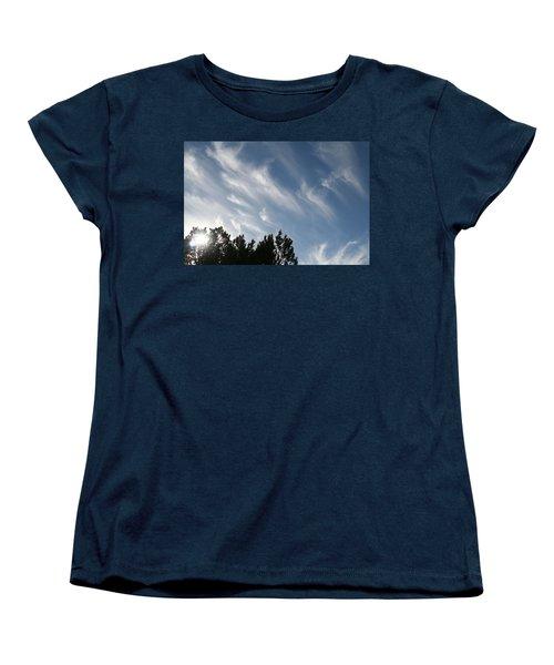 Women's T-Shirt (Standard Cut) featuring the photograph Mountain Sky by David S Reynolds