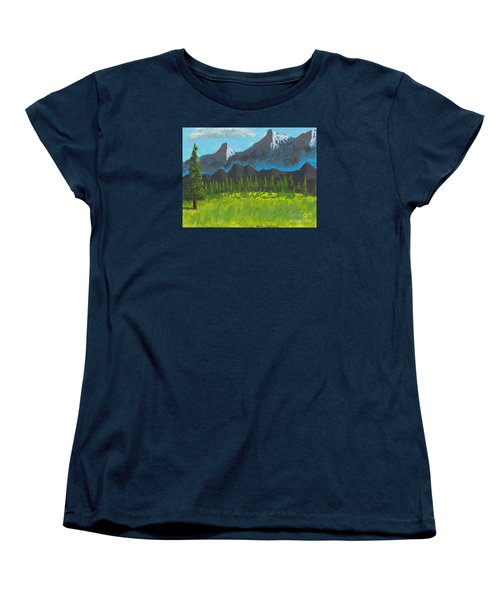 Mountain Vista Women's T-Shirt (Standard Cut) by David Jackson