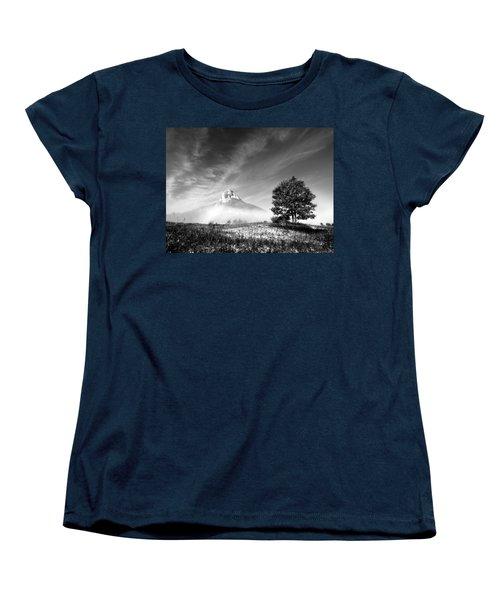 Mountain Zir Women's T-Shirt (Standard Cut) by Davorin Mance