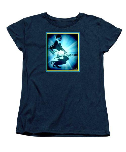 Mr Chuck Berry Blueberry Hill Style Edited 2 Women's T-Shirt (Standard Cut)