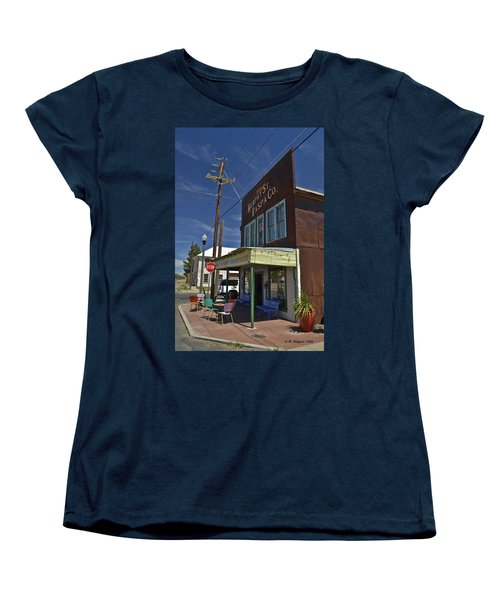 Murphy Street Raspa Women's T-Shirt (Standard Cut) by Allen Sheffield