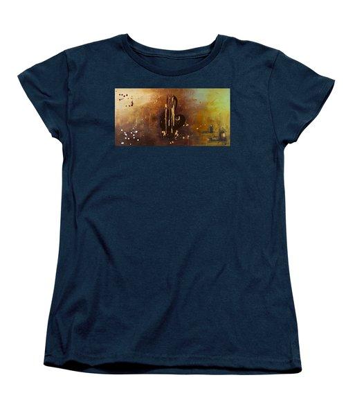 Music All Around Us Women's T-Shirt (Standard Cut) by Carmen Guedez