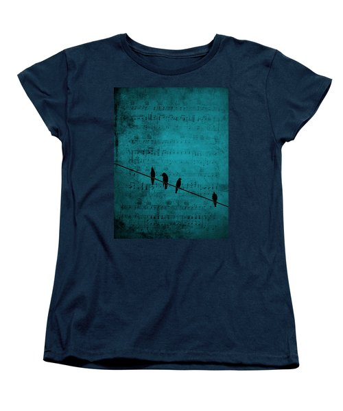 Music Soothes The Soul Women's T-Shirt (Standard Cut) by Andrea Kollo