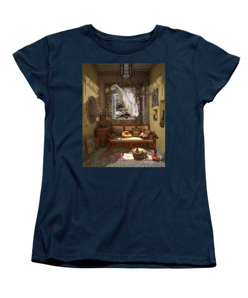 My Art In The Interior Decoration - Morocco - Elena Yakubovich Women's T-Shirt (Standard Cut) by Elena Yakubovich