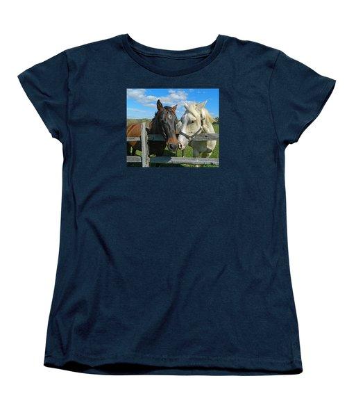 My Buddy Women's T-Shirt (Standard Cut) by Emmy Marie Vickers