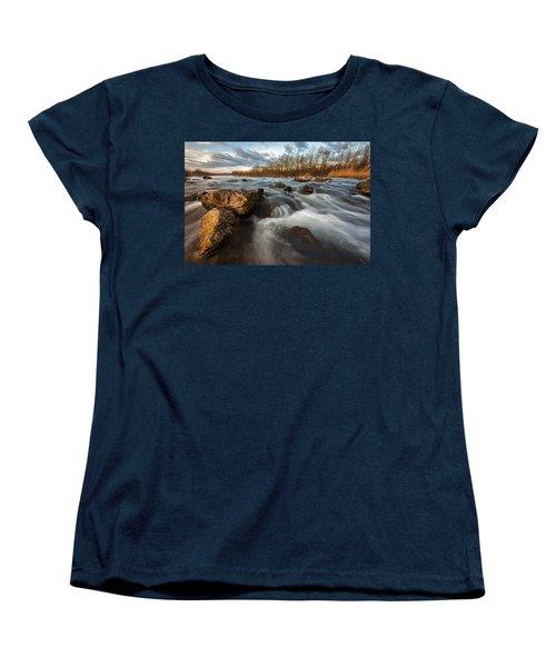 Women's T-Shirt (Standard Cut) featuring the photograph My Favorite Spot by Davorin Mance