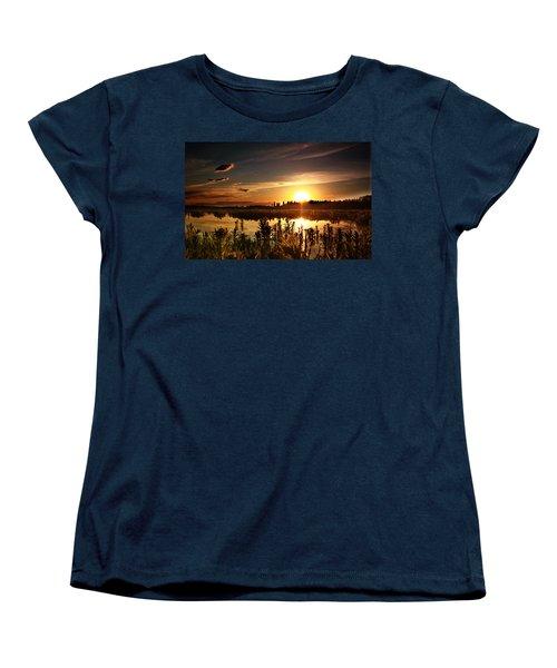 My Sandy Floors  Women's T-Shirt (Standard Cut) by Jerry Cordeiro
