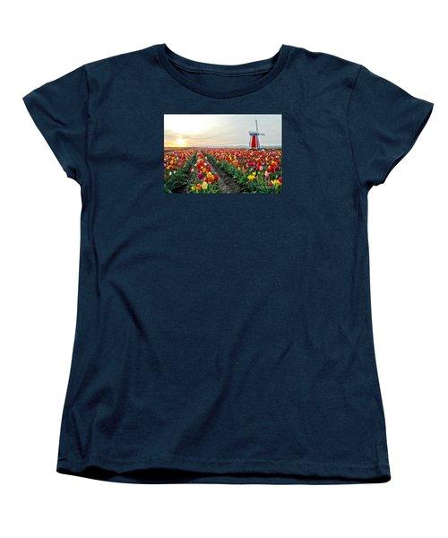 My Touch Of Holland 2 Women's T-Shirt (Standard Cut) by Nick  Boren