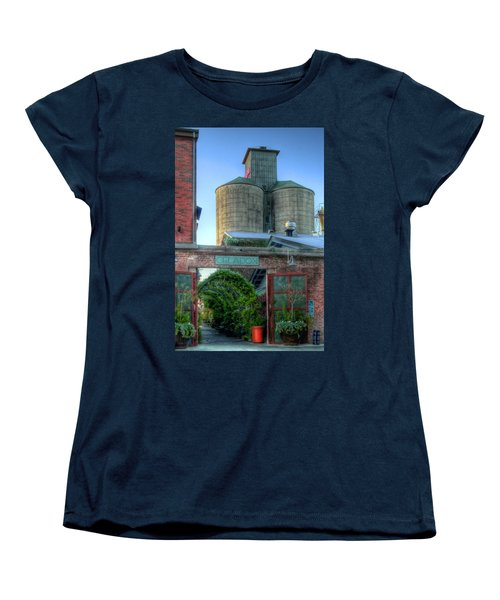 Napa Mill Women's T-Shirt (Standard Cut) by Bill Gallagher