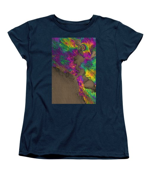 Women's T-Shirt (Standard Cut) featuring the photograph Napa Valley Earthquake, 2014 by Science Source