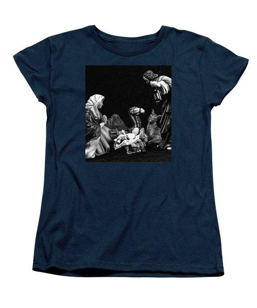 Nativity  Women's T-Shirt (Standard Cut) by Elf Evans