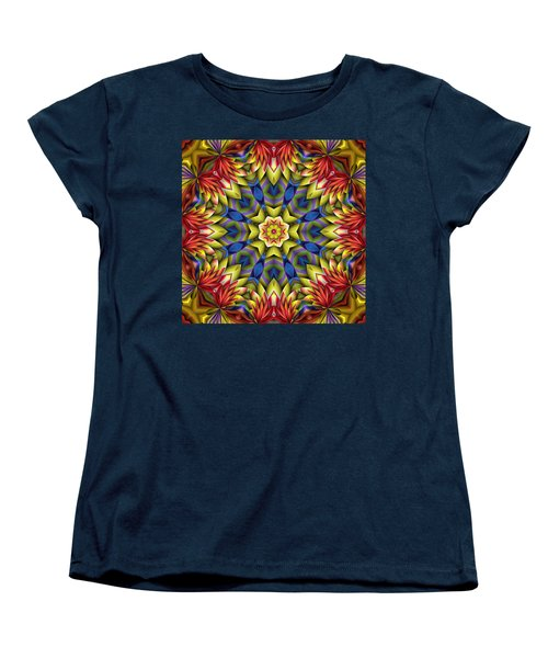 Natural Attributes 06 Square Women's T-Shirt (Standard Cut) by Wendy J St Christopher