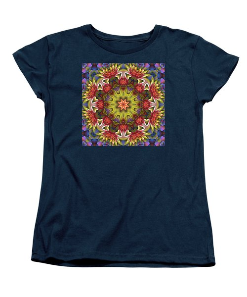 Natural Attributes 18 Square Women's T-Shirt (Standard Cut) by Wendy J St Christopher