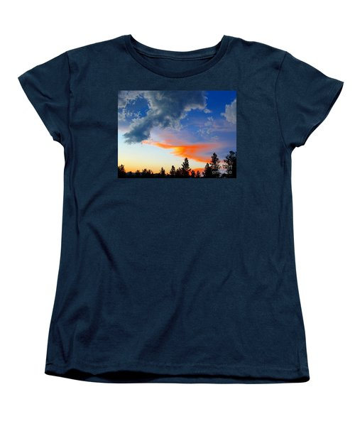Women's T-Shirt (Standard Cut) featuring the photograph Nature's Palette by Barbara Chichester