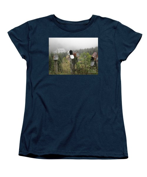 Nc Mailboxes Women's T-Shirt (Standard Cut) by Valerie Reeves