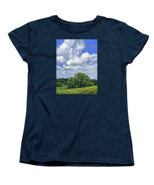 Nearly September Women's T-Shirt (Standard Cut) by Bruce Morrison