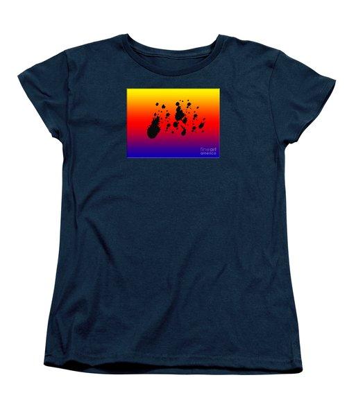 Women's T-Shirt (Standard Cut) featuring the photograph Nebulas by Tina M Wenger