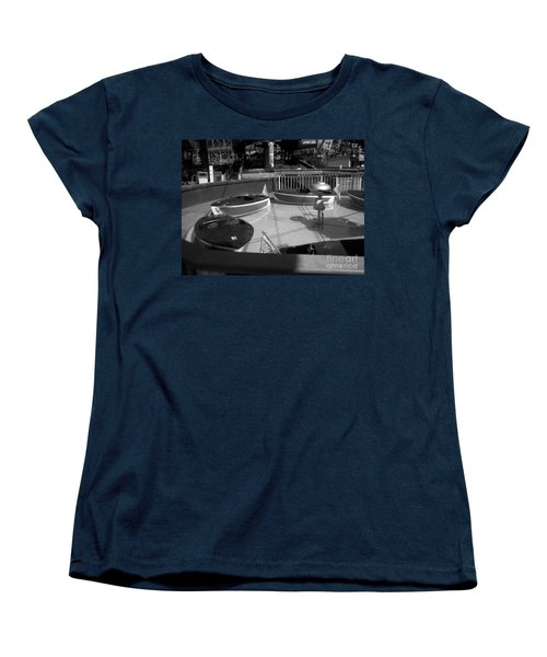 Women's T-Shirt (Standard Cut) featuring the photograph Needs Water Skis  by Michael Krek