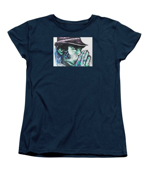 Neil Young Women's T-Shirt (Standard Cut) by Chrisann Ellis