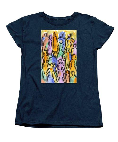 Network Women's T-Shirt (Standard Cut) by Leon Zernitsky