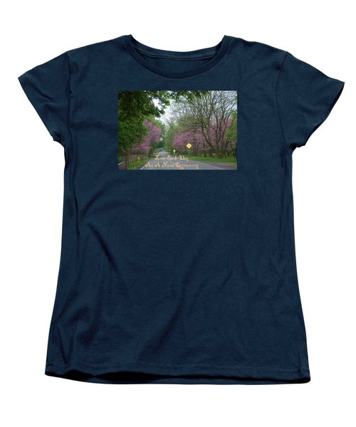 Women's T-Shirt (Standard Cut) featuring the photograph New Beginning by Aimee L Maher Photography and Art Visit ALMGallerydotcom