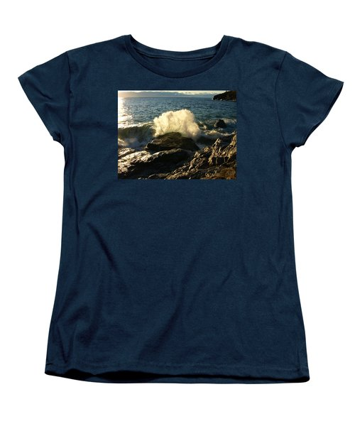 Women's T-Shirt (Standard Cut) featuring the photograph New Heights by James Peterson