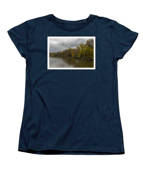 New Milford By Water Side Women's T-Shirt (Standard Cut)