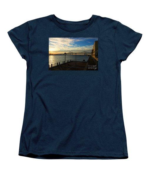 Women's T-Shirt (Standard Cut) featuring the photograph New Orleans Bridge by Erika Weber