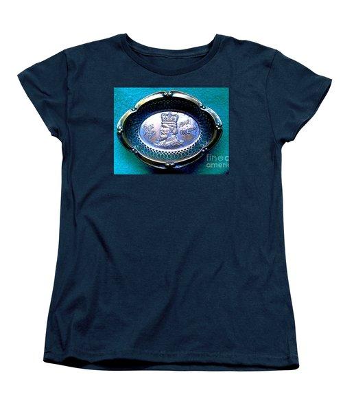 Women's T-Shirt (Standard Cut) featuring the photograph New Orleans Louisiana Usa King Rex Mardi Gras Favor Circa 1913 by Michael Hoard