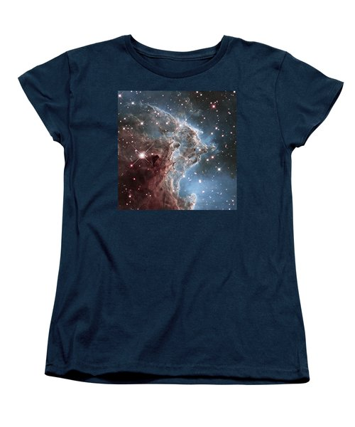Ngc 2174-nearby Star Factory Women's T-Shirt (Standard Cut) by Barry Jones