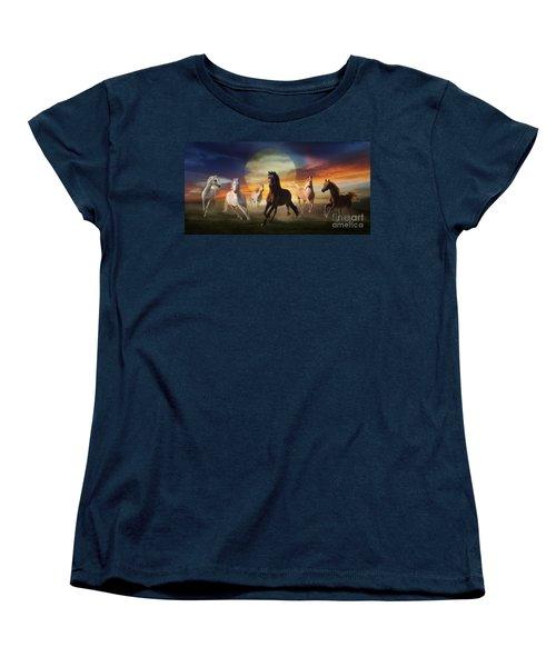 Night Play Women's T-Shirt (Standard Cut)
