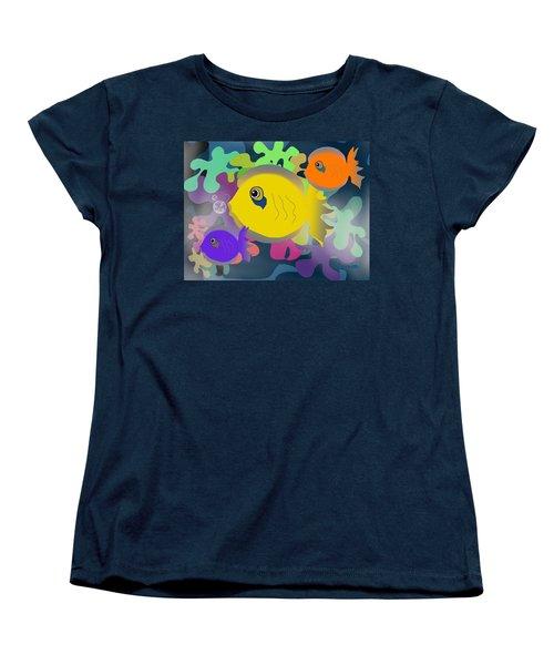 Night Swimming Women's T-Shirt (Standard Cut)
