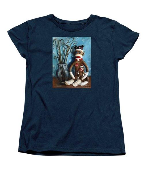 No Monkey Business Here 1 Women's T-Shirt (Standard Cut) by Randy Burns
