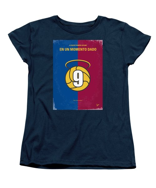 No272 My En Un Momento Dado Minimal Movie Poster Women's T-Shirt (Standard Cut)