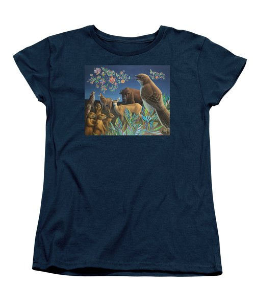 Nocturnal Cantata Women's T-Shirt (Standard Cut) by James W Johnson