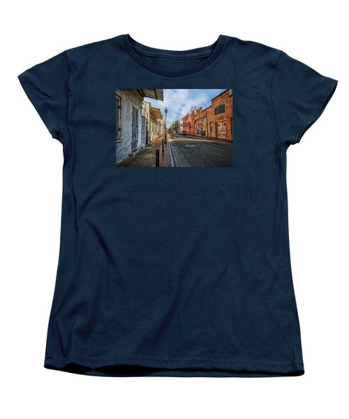 Nola French Quarter Women's T-Shirt (Standard Cut) by Sennie Pierson