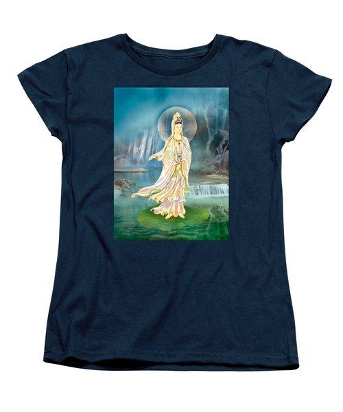 Non-dual Kuan Yin Women's T-Shirt (Standard Cut) by Lanjee Chee