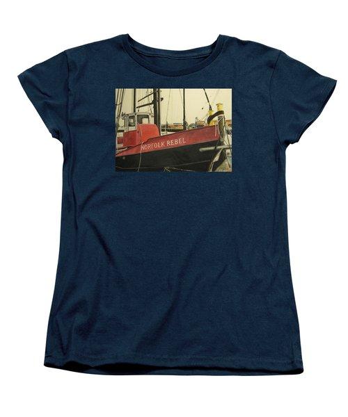 Norfolk Rebel Women's T-Shirt (Standard Cut) by Stan Tenney
