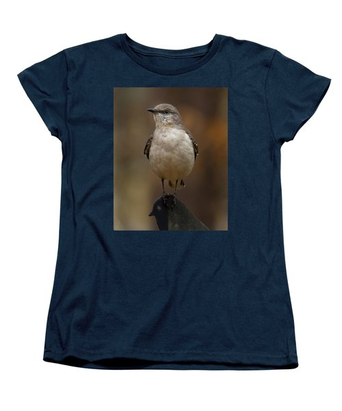 Northern Mockingbird Women's T-Shirt (Standard Cut) by Robert L Jackson