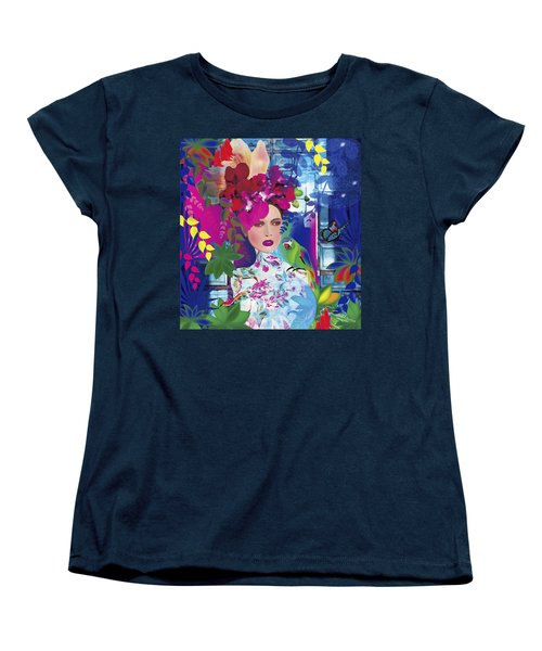 Not Always So Blue - Limited Edition 2 Of 20 Women's T-Shirt (Standard Cut) by Gabriela Delgado