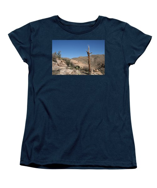 Not Giving Up Yet Women's T-Shirt (Standard Cut) by David S Reynolds