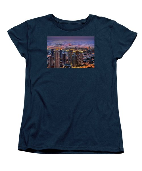 Women's T-Shirt (Standard Cut) featuring the photograph Not Hong Kong by Ron Shoshani