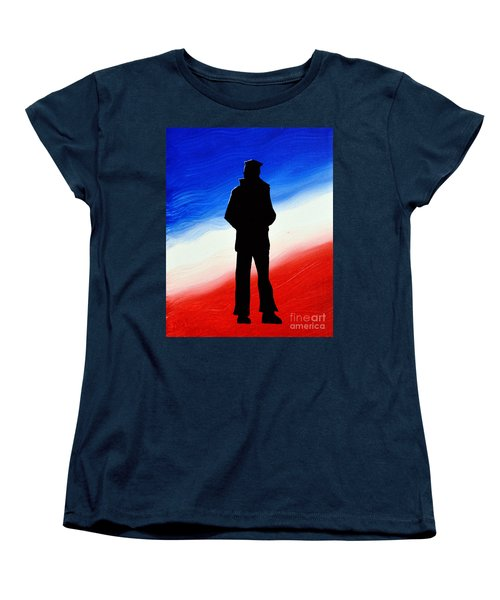 Not Self But Country Women's T-Shirt (Standard Cut) by Alys Caviness-Gober