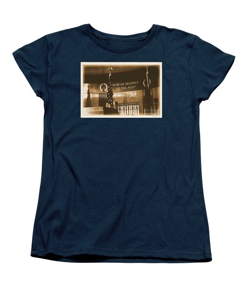 Women's T-Shirt (Standard Cut) featuring the photograph Now He Belongs To The Ages by Luther Fine Art