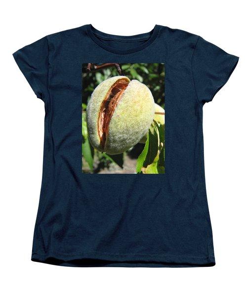 Women's T-Shirt (Standard Cut) featuring the photograph Nut Case by Brooks Garten Hauschild