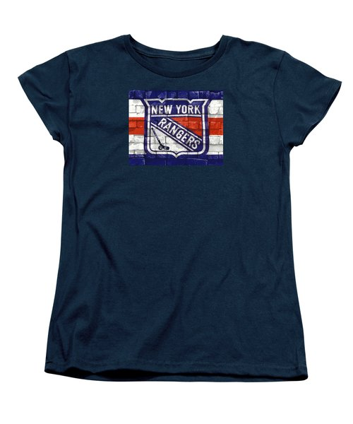 Ny Rangers-2 Women's T-Shirt (Standard Cut) by Nina Bradica