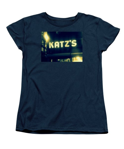 Nyc's Famous Katz's Deli Women's T-Shirt (Standard Cut)